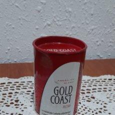 Paquetes de tabaco: ANTIGUA LATA TABACO GOLD COAST. VER FOTOGRAFÍAS Y DESCRIPCIÓN.. Lote 293726068
