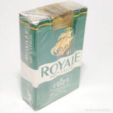 Paquetes de tabaco: PAQUETE DE TABACO PRECINTADO SIN ABRIR. MARCA ROYALE MENTHOL. FRANCIA. 20 CIGARRILLOS. SIGO XX.. Lote 293878743