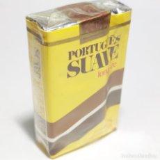 Paquetes de tabaco: PAQUETE DE TABACO PRECINTADO SIN ABRIR. MARCA PORTUGUES SUAVE. TABACALERA. 20 CIGARRILLOS. SIGO XX.. Lote 293879558