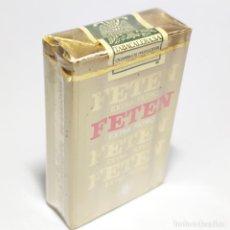 Paquetes de tabaco: PAQUETE DE TABACO PRECINTADO SIN ABRIR. MARCA FETEN. LAS PALMAS. 20 CIGARRILLOS. SIGO XX.. Lote 293879863