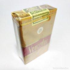 Paquetes de tabaco: PAQUETE DE TABACO PRECINTADO SIN ABRIR. MARCA VENCEDOR. TABACALERA. 20 CIGARRILLOS. SIGO XX.. Lote 293880713