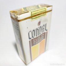 Paquetes de tabaco: PAQUETE DE TABACO PRECINTADO SIN ABRIR. MARCA CONDAL. TABACALERA. 20 CIGARRILLOS. SIGO XX.. Lote 293881078