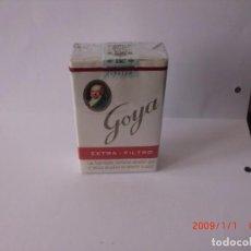Paquetes de tabaco: TABACO ANTIGUO GOYA PERFECTO (COLECCIÓN,NO ACTO PARA CONSUMO). Lote 294578723
