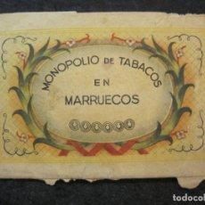 Paquetes de tabaco: MONOPOLIO DE TABACOS EN MARRUECOS-VER FOTOS-(85.138). Lote 295349053