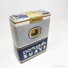 Paquetes de tabaco: PAQUETE DE TABACO SIN ABRIR. MARCA PORTUGUÉS SUAVE.TABACALERA. 20 CIGARRILLOS. SIGO XX.. Lote 295713218