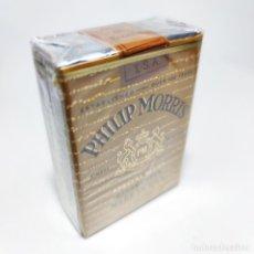 Paquetes de tabaco: PAQUETE DE TABACO SIN ABRIR. MARCA PHILIP MORRIS. U.S.A. 20 CIGARRILLOS. SIGO XX.. Lote 295713463
