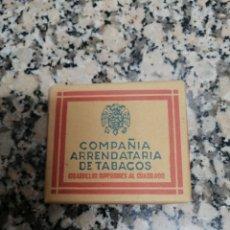 Paquetes de tabaco: PAQUETE 20 CIGARRILLOS COMPAÑIA ARRENDATARÍA DE TABACOS CIGARRILLOS SUPERIORES AL CUADRADO. Lote 295739588