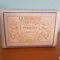 Paquetes de tabaco: TABACO 100 GRMS. LA REGIONAL. JOSÉ HERRERA Y COMPAÑIA. PICADURA SELECTA.. Lote 296811878