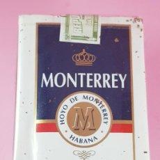 Paquetes de tabaco: PAQUETE-TABACO-CUBANO-HOYOS DE MONTERREY-COLECCIONISTAS-EXCELENTE. Lote 297099793