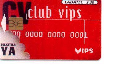 16-364. LADATEL. CLUB VIPS (Coleccionismo - Tarjetas Telefónicas)