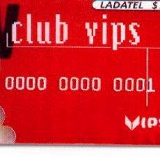 Tarjetas telefónicas de colección: 16-364. LADATEL. CLUB VIPS. Lote 32011