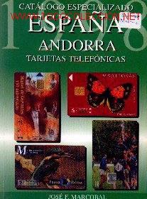 CAT15-2. CATÁLOGO MARCOBAL. ESPAÑA ANDORRA 1998 (Coleccionismo - Tarjetas Telefónicas)