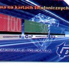 Tarjetas telefónicas de colección: 16-385. POLONIA TARJETA MAGNÉTICA. Lote 246545