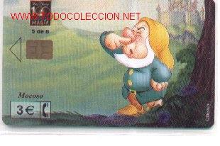 1502-68. MOCOSO. 02-0068-C (Coleccionismo - Tarjetas Telefónicas)