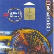 Tarjetas telefónicas de colección: 16-DEP19. FRANCIA. TOUR DE FRANCIA 97. Lote 4156687