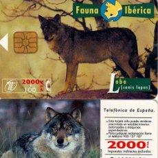 Tarjetas telefónicas de colección: TT USADA: 1996-04 LOBO . Lote 4676845