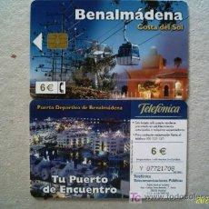 Tarjetas telefónicas de colección: 2002-11: BENALMÁDENA. COSTA DEL SOL . Lote 4702337