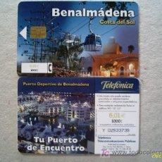 Tarjetas telefónicas de colección: 2001-09: BENALMÁDENA. COSTA DEL SOL . Lote 4702345