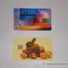 Tarjetas telefónicas de colección: 2 TARJETAS TELEFONICAS, UNA DE IRLANDA Y OTRA DE LA REPÚBLICA CHECA. Lote 27567564