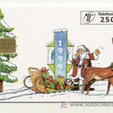 Tarjetas telefónicas de colección: RARA TARJETA TELEFONICA 1999 ////// 250 PESETAS . Lote 22533297