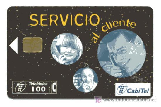 RARA TARJETA TELEFONICA // 100 PESETAS (Coleccionismo - Tarjetas Telefónicas)