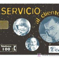 Tarjetas telefónicas de colección: RARA TARJETA TELEFONICA // 100 PESETAS . Lote 22533296