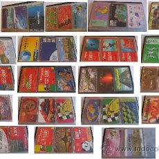 Tarjetas telefónicas de colección: 59 TARJETAS TELEFONICAS DIFERENTES. Lote 26208497