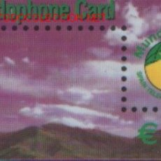 Tarjetas telefónicas de colección: TARJETA TELEFONICA MUINDOPHONE CARD DE 15 EUROS. Lote 2116030