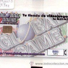 Tarjetas telefónicas de colección: 15-192. GLOBAL GAME. ESPAÑA NUEVA. Nº CABITEL: 99-0061-B. Lote 9960942