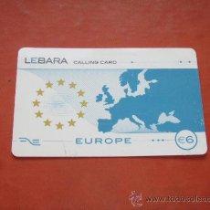 Tarjetas telefónicas de colección: TARJETA TELEFONICA, CALLING CARD, LEBARA.. Lote 14542889