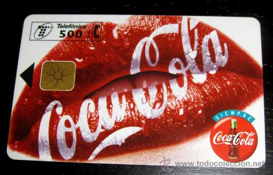 TARJETA TELEFONICA COCA COLA - 500 PESETAS (Coleccionismo - Tarjetas Telefónicas)