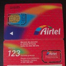 Tarjetas telefónicas de colección: AIRTEL TARJETA CONTRATO GSM 4 P-I- 3. Lote 18975433