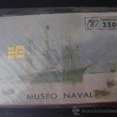 Tarjetas telefónicas de colección: TARJETA ESPAÑA NUEVA CON PRECINTO P-261 MUSEO NAVAL 04-97. Lote 19347586