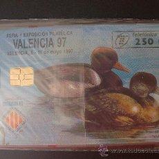 Tarjetas telefónicas de colección: TARJETA ESPAÑA NUEVA CON PRECINTO P-259 VALENCIA 04-97. Lote 19347630