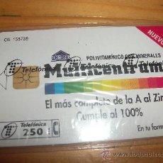 Tarjetas telefónicas de colección: TARJETA ESPAÑA NUEVA CON PRECINTO P-191 MULTICENTRUM 04-96 . Lote 19350434