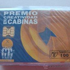 Tarjetas telefónicas de colección: TARJETA ESPAÑA NUEVA CON PRECINTO P-122 PREMIOS 04/95 . Lote 19360999