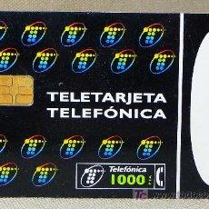 Tarjetas telefónicas de colección: TARJETA TELEFONICA, 1000 + 100 PESETAS, TELEFONICA. Lote 21233353
