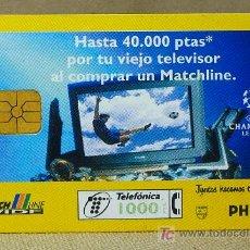 Tarjetas telefónicas de colección: TARJETA TELEFONICA, 1000 PESETAS, PHILIPS. Lote 21233483