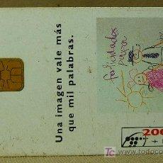 Tarjetas telefónicas de colección: TARJETA TELEFONICA, 2000 + 100 PESETAS, TELEFONICA, TELYCO, UNA IMAGEN VALE MAS QUE MIL PALABRAS. Lote 21233721