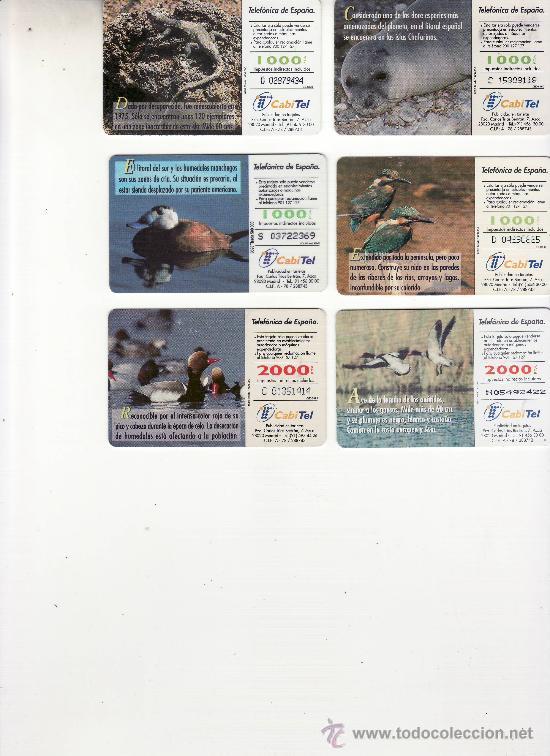 Tarjetas telefónicas de colección: reverso de varias tarjetas - Foto 2 - 26222167