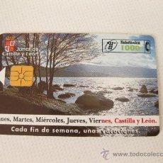 Tarjetas telefónicas de colección: TARJETA TELEFONICA DE 1000 PESETAS - JUNTA DE CASTILLA Y LEON. Lote 28367081