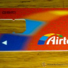 Tarjetas telefónicas de colección: TARJETA AIRTEL.................GSM.................MUY RARA. Lote 29157916