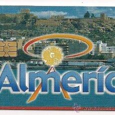 Tarjetas telefónicas de colección: TARJETA TELEFÓNICA USADA. ALMERÍA. Lote 99321887