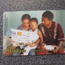 Tarjetas telefónicas de colección: TARJETA TELEFÓNICA DE MALDIVAS.. Lote 31931219