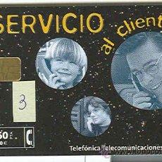 Tarjetas telefónicas de colección: TARJETA TELEFONICA USADA PRIVADA 3. Lote 31967695