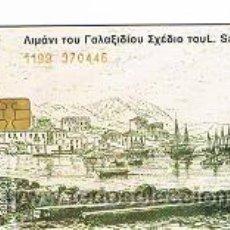 Tarjetas telefónicas de colección: TARJETA TELEFONICA DE GRECIA. Lote 33243991