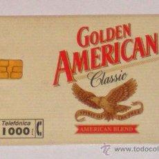Tarjetas telefónicas de colección - Tarjeta Telefónica Usada Golden American - 34725841