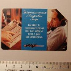 Tarjetas telefónicas de colección: TARJETA PREPAGO TELECOM ITALIA AÑO 98. USADA. Lote 34911432