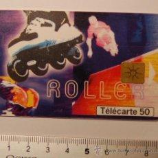 """Tarjetas telefónicas de colección: TARJETA PREPAGO FRANCE TELECOM AÑO 99 """"STREET CULTURE ROLLER"""". USADA. Lote 34911666"""