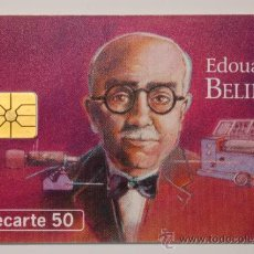 "Tarjetas telefónicas de colección: TARJETA TELEFÓNICA PREPAGO FRANCE TELECOM ""EDOUARD BELIN"". USADA. Lote 34918536"